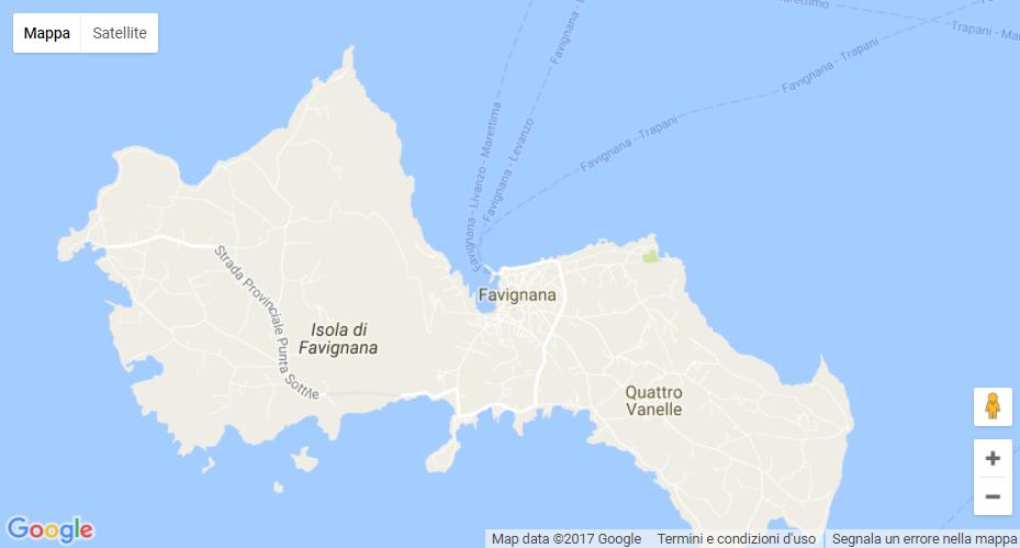 Favignana, Informazioni turistiche, Vacanze Low Cost, Servizio Taxi ...